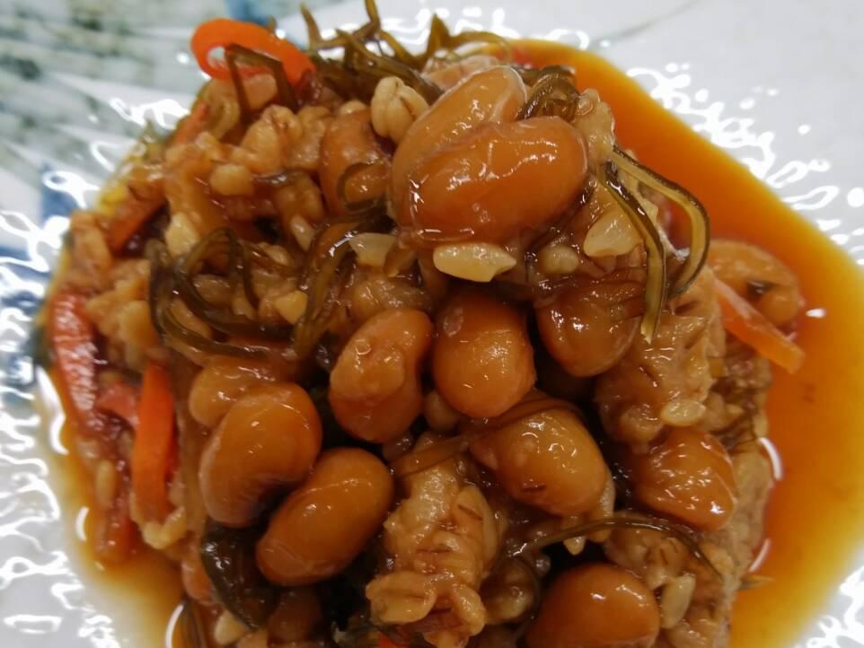 野菜と大豆の糀漬け